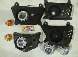 Reflektor ninja 150 R,RR dan Bejita