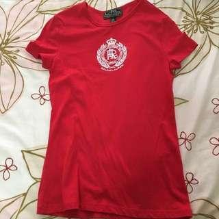 Authentic Ralph Lauren Red Shirt
