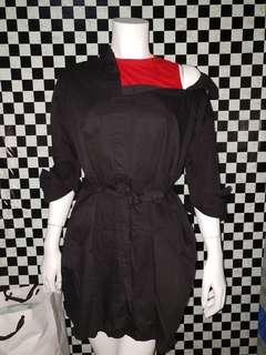 One shoulder dress (S-M)
