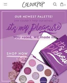COLOURPOP | FREE SHIPPING