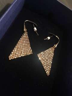 Never worn Swarovski earrings