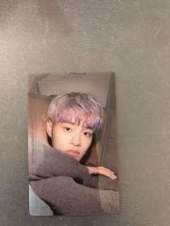 Wannaone Lee Daehwi Photocard Nothing Without You