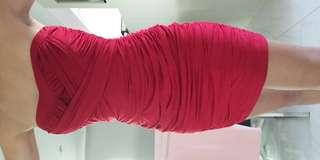 Boob Tube Dress 8 S stretchy