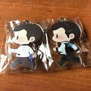 Detroit: Become Human Connor Doujin Keychain