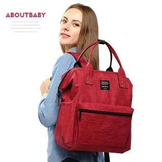🚚 ❤On-hand: Diaper bag(Red AB)
