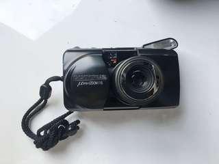 🚚 [變焦黑喵]Olympus µ [mju:] zoom 115 稀有黑機 底片相機