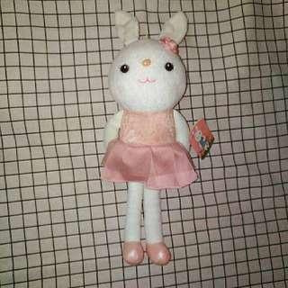 🚚 全新 兔子小姐娃娃 40cm
