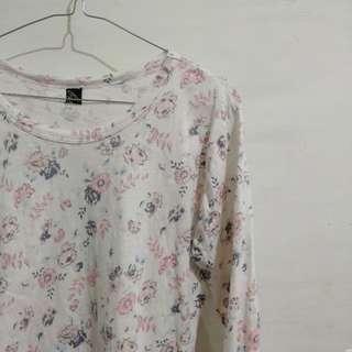 🌸Flowers shirt long sleeve // baju bunga lengan panjang🌸