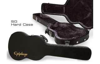 Epiphone SG Bass Guitar Hard Case w/keylock 低音結他箱盒(有鍞