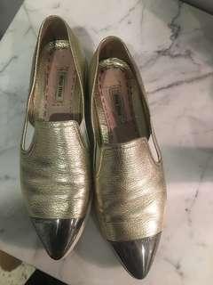 MiuMiu capped-toe sneakers PRICE DROP