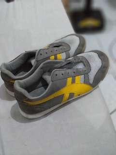Yellow & Gray shoes from Italy