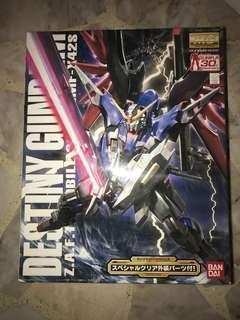 Bandai MG 1/100 Destiny Gundam 30th Anniversary Clear