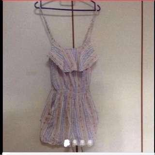 $39 Sweet Picnic One-Piece short  Jumpsuit From Sydney (brand New)