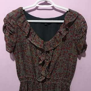 XS Gap Floral Dress