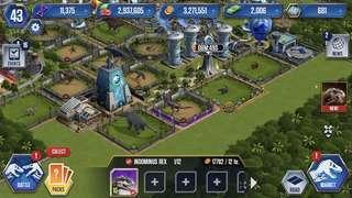 Jurassic world the game account