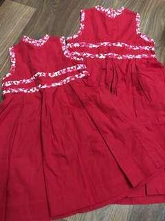 PL Chateau de Sable Red CNY dresses - 3/6