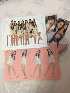 IZ*ONE Color*IZ Album | Hitomi PC and CD