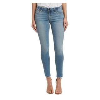 Joe'S Jeans Vienna Skinny Raw Edge Ankle Cut Jeans Size 25