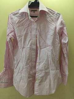 Sacoor Brother's woman workshirt (pink&white)