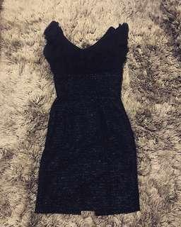 Crepe Tweed dress