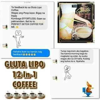 Gluta Lipo Coffee Slimming/Whitening