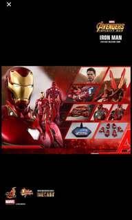 Po Hot Toys Iron man mark 50 Infinity wars