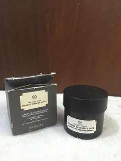The body shop chinese & ginseng rice mask