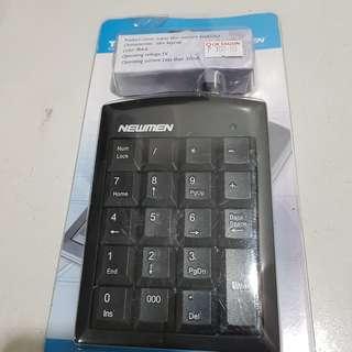 Slim Numeric Keypad