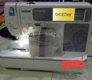Mesin Sulam / Embroidery Machine Brother Innovis 950