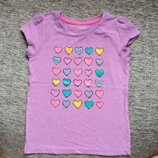 George purple shirt 6t