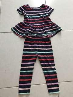 Baby gap top and bottom size 2 yrs