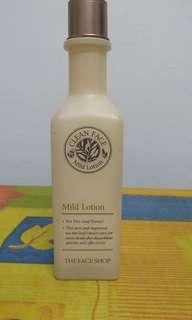 The Face Shop- Clean face mild Lotion