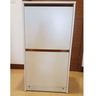 2 shoe cabinets for sale in perfect condition