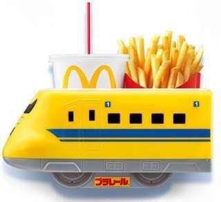 Shinkansen Train to complete your Mcdonald's My Melody fries holder