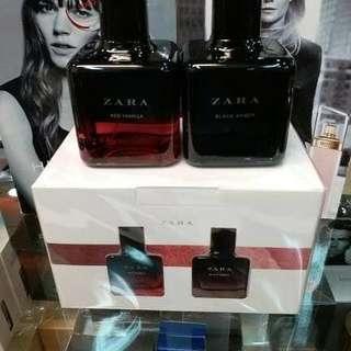 Parfum Zara Red Vanilla + Black Amber