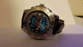 Breitling Airwolf (sunburst dial type)