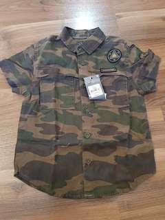 Camo Polo for Toddlers