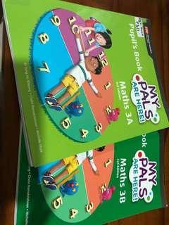 Primary 3 math My Pals textbooks