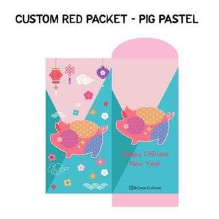 Custom Personalised Chinese New Year Red Packet