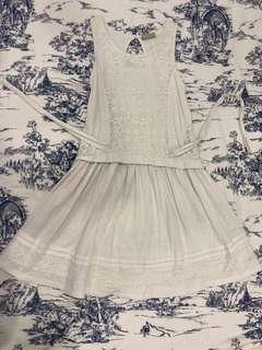 NEXT UK GIRL LACEY COTTON DRESS FITTING 10 to 12 years old
