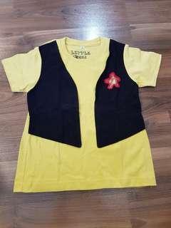 Yellow Sherriff Shirt for Toddlers