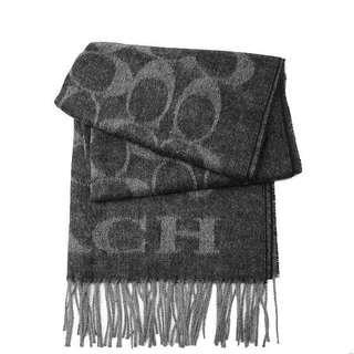 🚚 Coach 羊毛圍巾