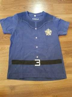 Blue Sherriff Shirt for Toddlers