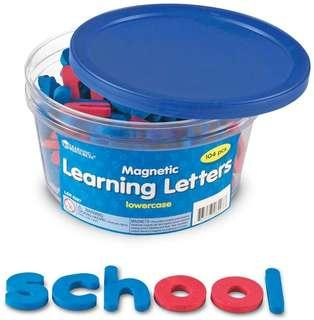 *Brand New* Learning Resources Magnetic Learning Alphabet Letters - Lowercase Educational Tools for Homeschooling (Great for Literacy Learning) Tot / Home School Teaching Resources ABC Magnet