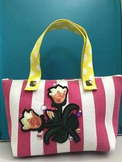 Flower Patch Pink Tote