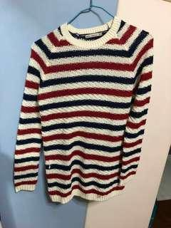 Zara knitted pullover top