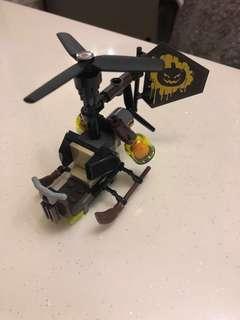 Lego 70913稻草人直升機(已砌)