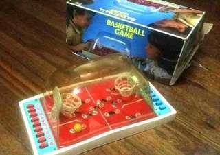 VINTAGE RARE RETRO 80'S TABLETOP BASKETBALL GAME