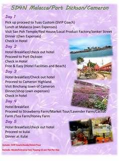 5 day Malaysia Special