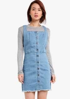 Squared Neck Midi Dress